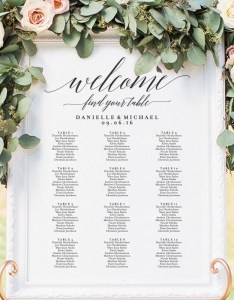 Image also wedding seating chart sign printable etsy rh