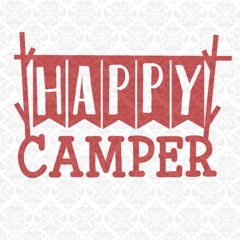 Download Happy Camper I Love Camping Off Map Gone SVG DXF Ai Eps ...