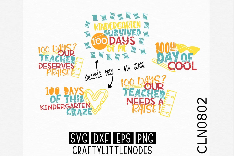 100th Day Svg 100 Days Of School Svg School Svg 100 Days