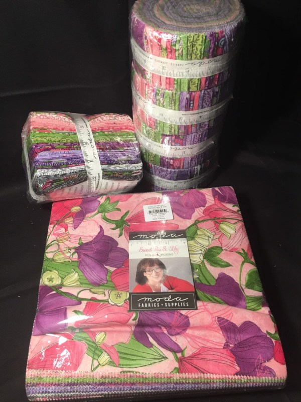 sweet pea lily jelly roll # 32