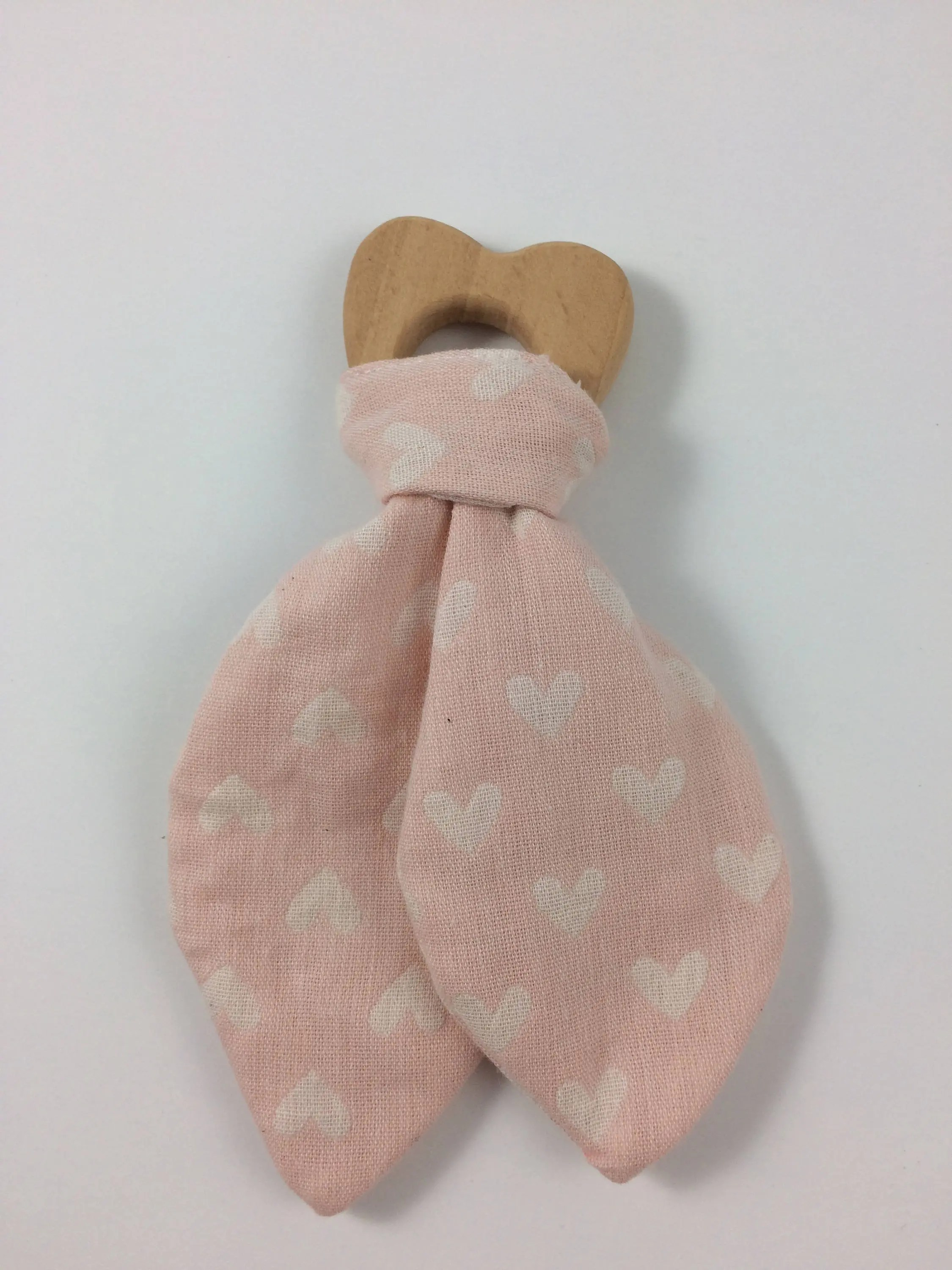 Heart Wooden teether image 1