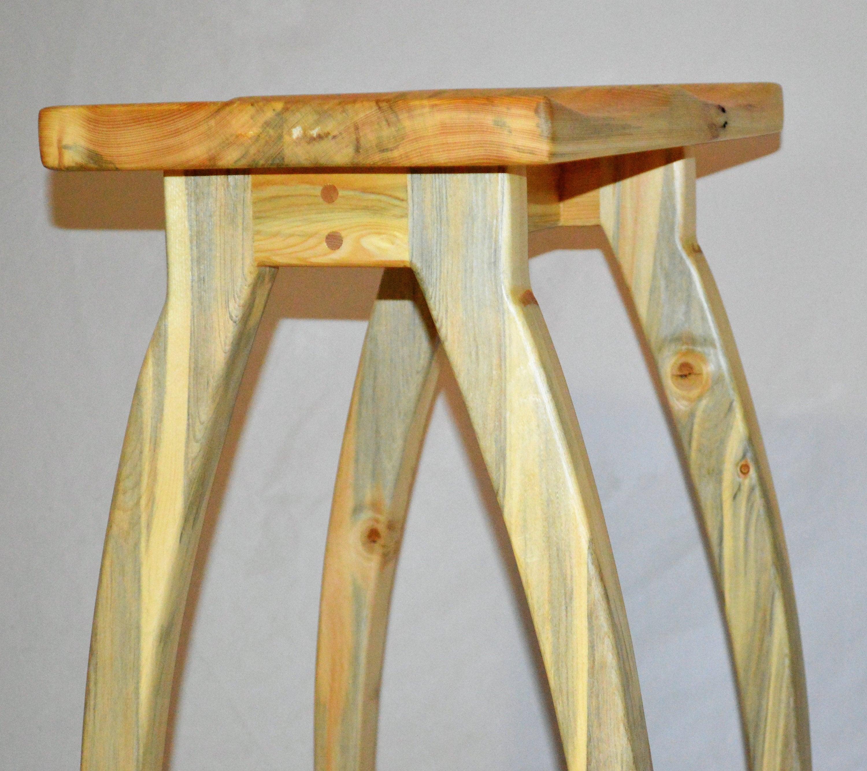 handmade wooden chairs baby high at walmart wood stool bar chair etsy 50