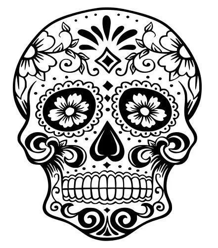 Houston Texans Sugar Skull SVG Cutting file for Cricut or