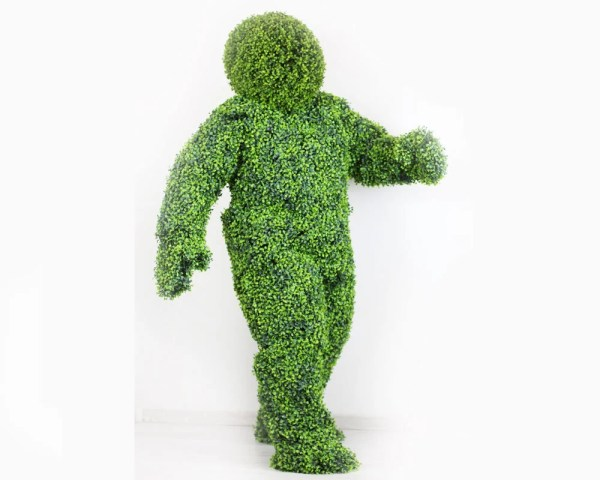 Human Bush Topiary Costume Green Hedge Adult Size