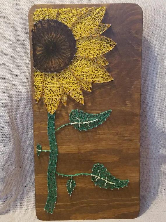 Sunflower String Art : sunflower, string, Sunflower, String