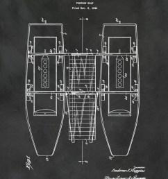 1941 pontoon boat patent print boat poster sailing vessel nautical theme decor marina decor party boat patent print [ 1195 x 1500 Pixel ]