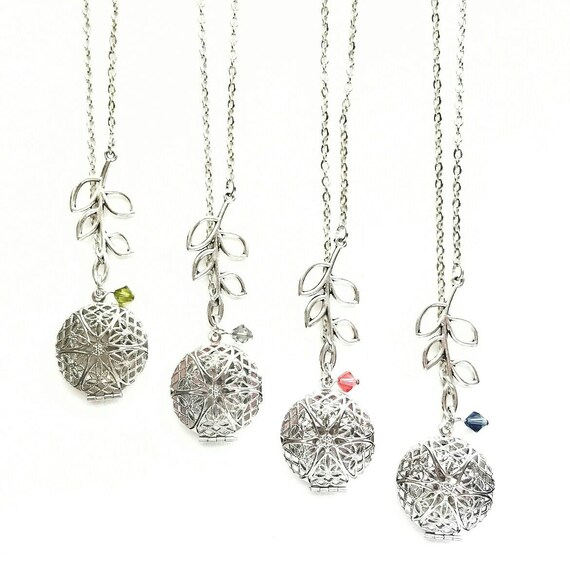 Silver Branch Necklace Diffusers / Essential Oils