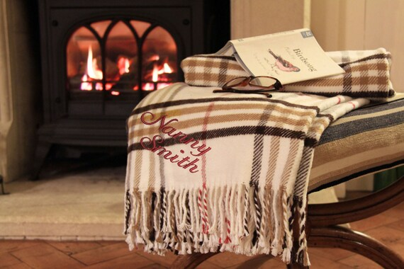 Personalised Blanket Throw