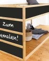 Kura Bed Stickers Kura Bed Decals Chalk Board Chalkboard Etsy