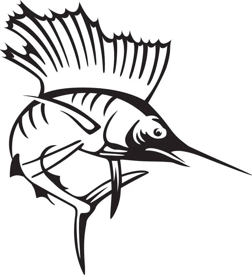 Marlin SVG file