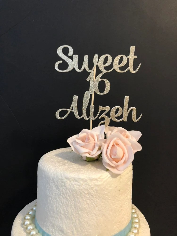 customized sweet 16 birthday