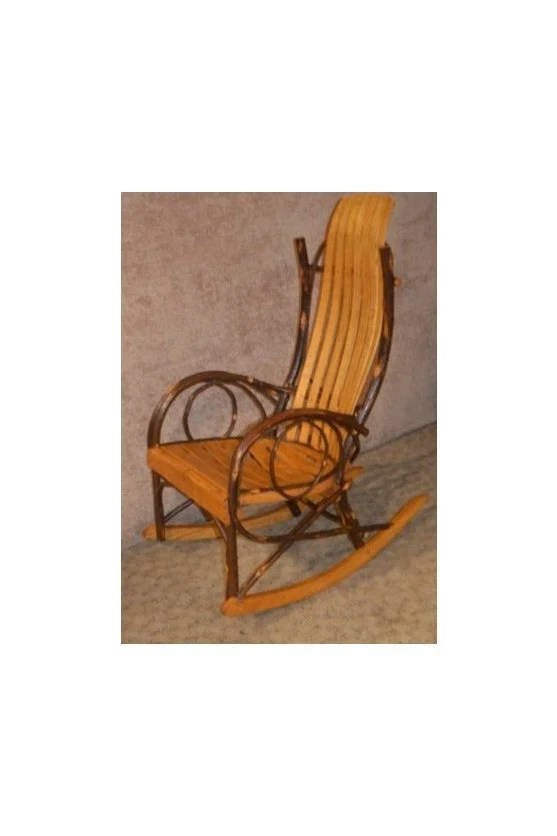 bent wood rocking chair phil teds me too portable high recall hickory style bentwood etsy image 0