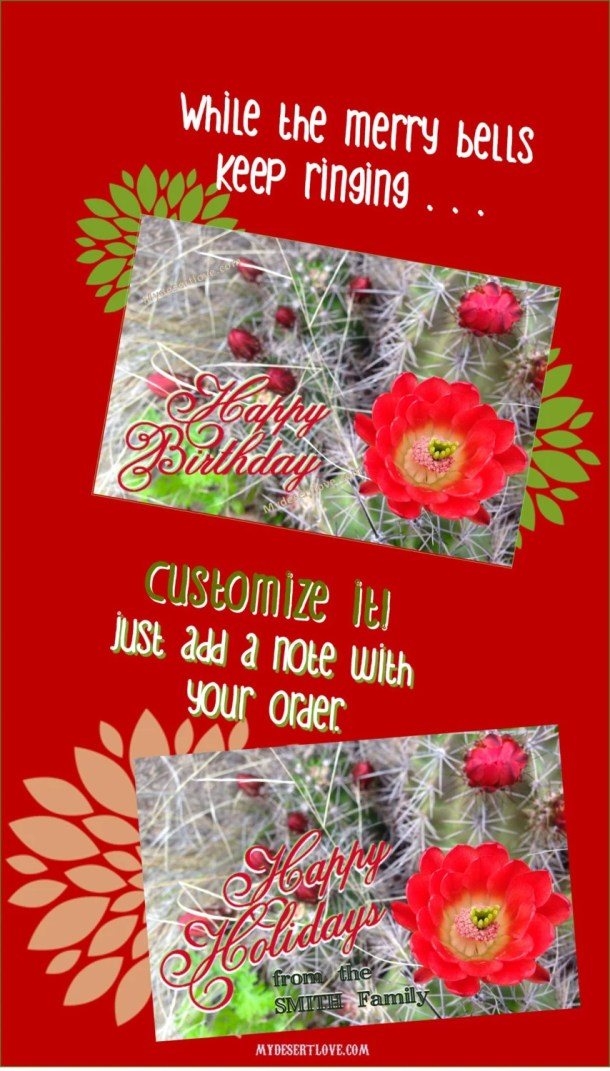 Personalize Happy Holiday...