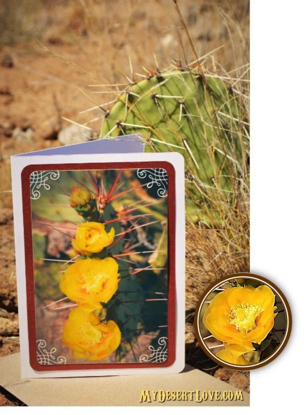 Handmade Desert Wild Cact...