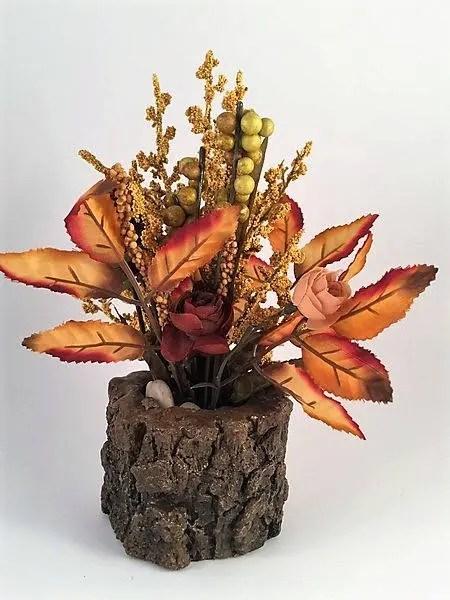 fall flower arrangement autumn