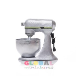 Silver Kitchen Aid Vanities Dollhouse Miniature Mixer Etsy