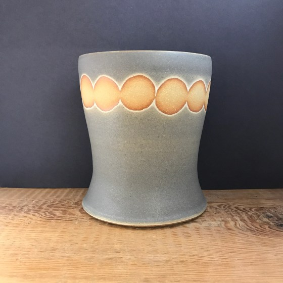 Utensil Holder with dots...