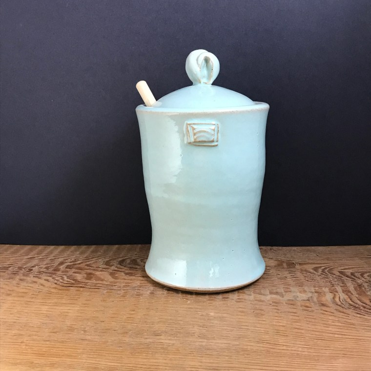 Honey Jar cool blue