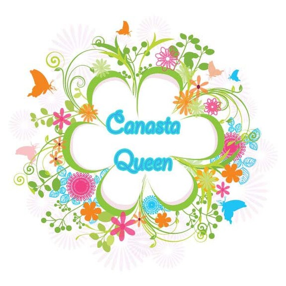 canasta clip art queen printable