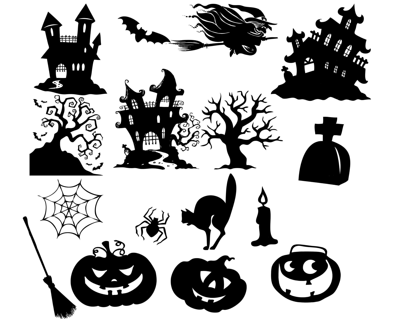 Halloween Clipart Halloween Clip Art Halloween Silhouette