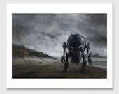 """Giclée Print: """"Colossus"""""""
