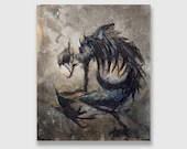 """Acrylic on Canvas: """"World Eater"""""""