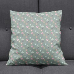 Green Cushions Living Room Island Themed Floral Cushion Throw Pillows Etsy