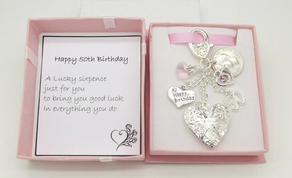 Personalised 50th Keyring