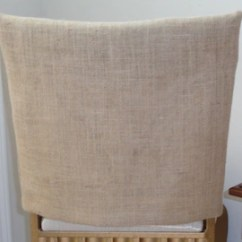 Covers For Chairs Black Rocking Chair Outdoor Back Etsy Burlap Jute Rustic Weddings Parties Country Kitchens Custom Sized Seat Dining Bar Stools
