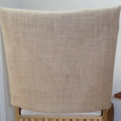 Chair Back Covers Wedding Rocking Chairs At Walmart For Weddings Burlap Jute Rustic Parties Etsy