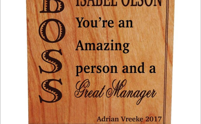 Gift For Manager Mentor Boss Gifts Personalized Christmas