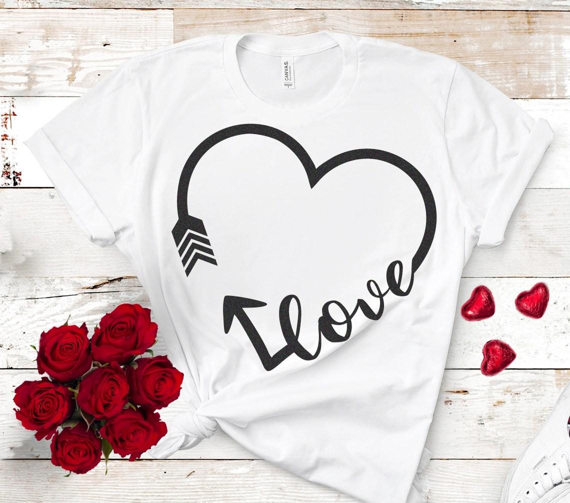 Download Valentine svg, Love arrow Svg, Valentines day svg, wedding ...