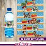 12 Toy Story Water Bottle Label Instant Download Etsy