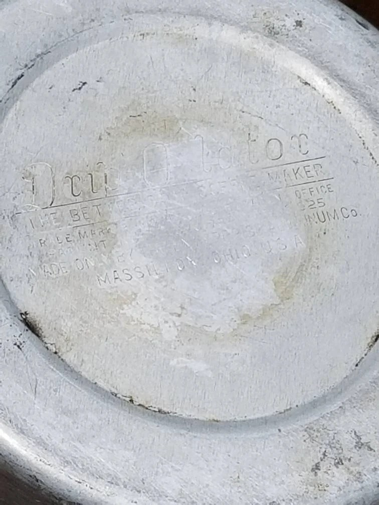 Vintage Drip O Lator / Aluminum Drip Coffee Maker