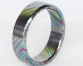 Timascus Titanium Men/Women's Ring