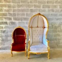 French Canopy Chair Cheap Lounge Chairs Balloon Throne 2 Avail Red Velvet Children Size Gallery Photo
