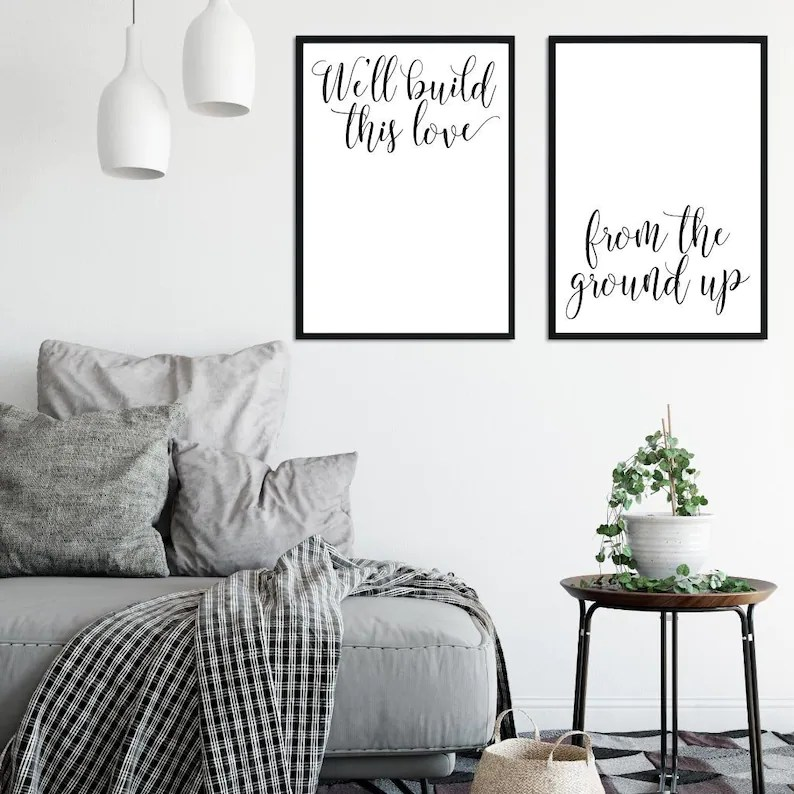 Download We'll Build This Love From The Ground Up Home Decor Sign ...