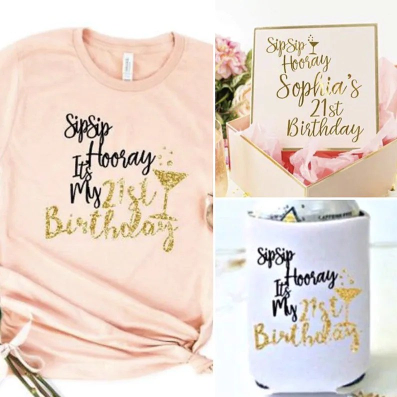 personalized 21st birthday gift