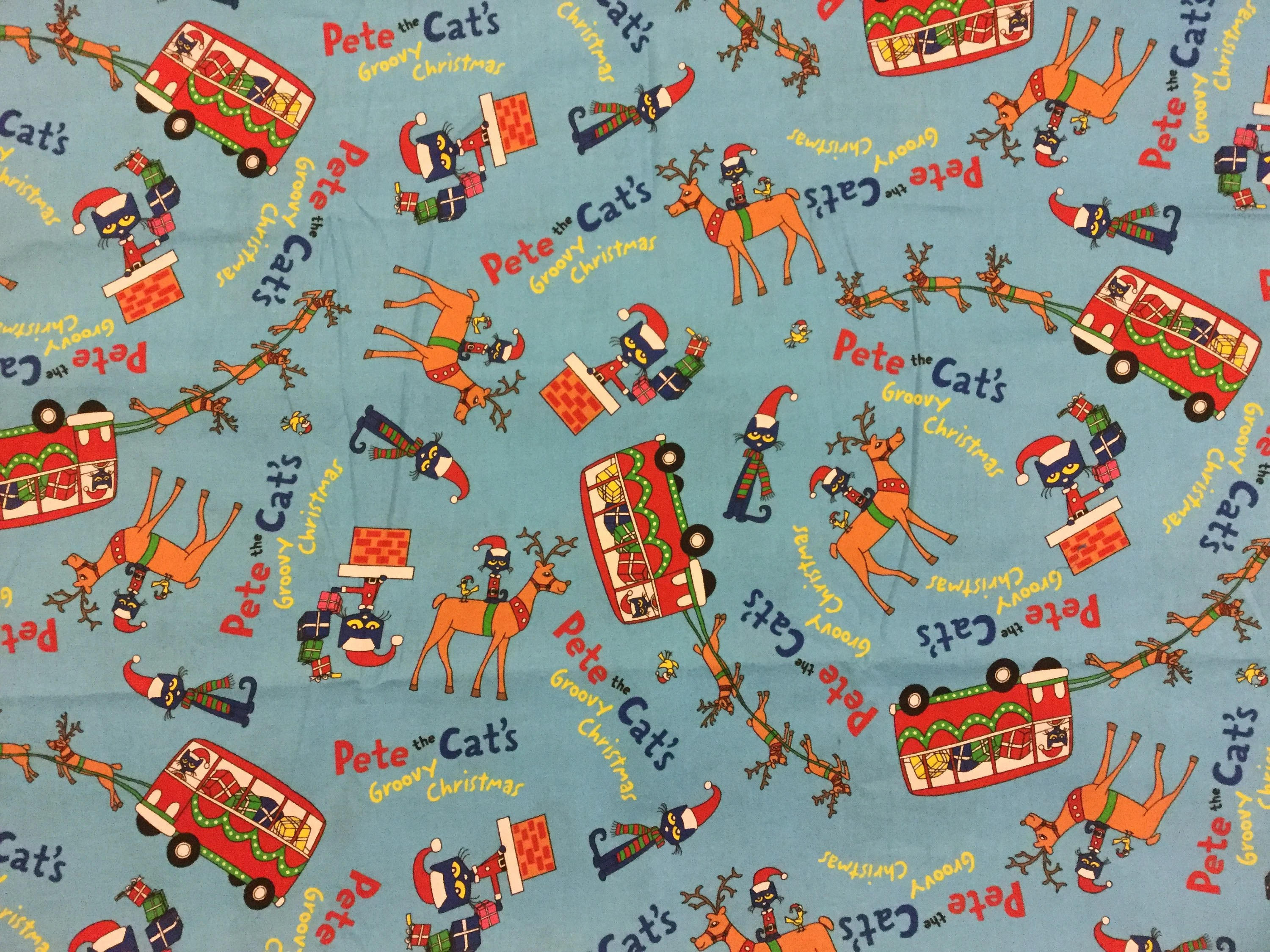 Pete The Cat Christmas Blankets