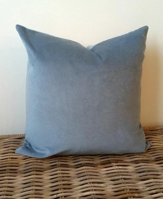 pale blue velvet pillow cover blue cushion soft blue decor pillow throw pillow velvet lumbar cushion luxe velvet lumbar pillow