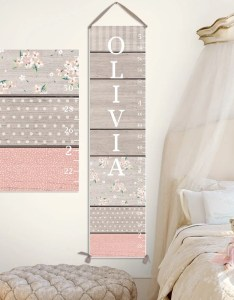 also canvas growth chart personalized toddler  kid etsy rh