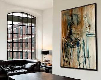 large art prints etsy