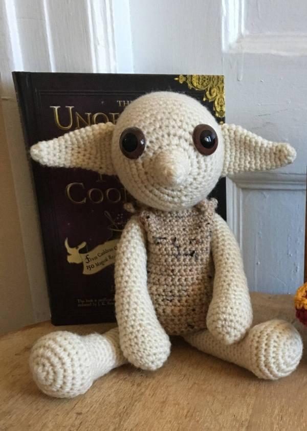 Dobby Doll House Elf Harry Potter Nursery Decor