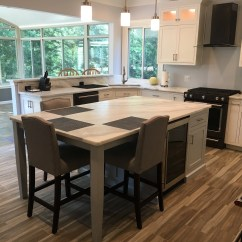 Custom Kitchen Islands Round Table Seats 8 Island Etsy Item 102 With Seating