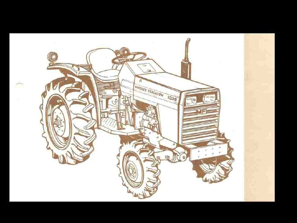 massey ferguson 175 parts diagram of sciatic nerve pathway mf 165 wiring online tractor manual 390pg exploded etsy