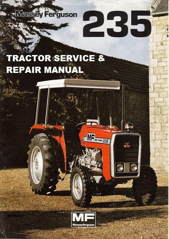 Workshop Manual Massey Ferguson 28