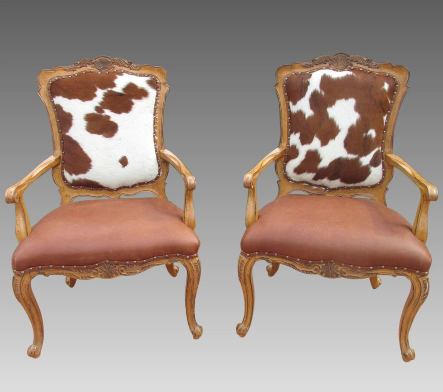cowhide print accent chair spider web target chairs hair on hide fire side pair