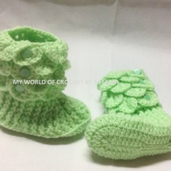 Crochet Baby Booties Diagram Traffic Light Ladder Logic Crocodile Shoe Pattern Boots Etsy Image 0