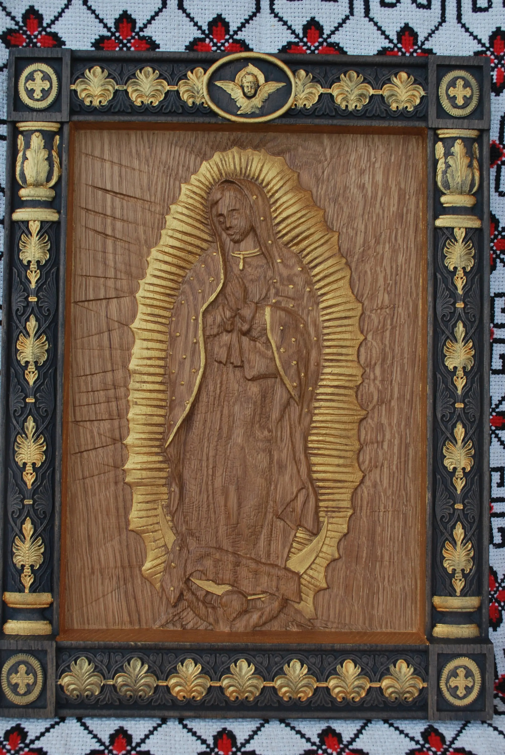 Our Lady Of Guadalupe Virgin De Guadalupe Catholic Icon