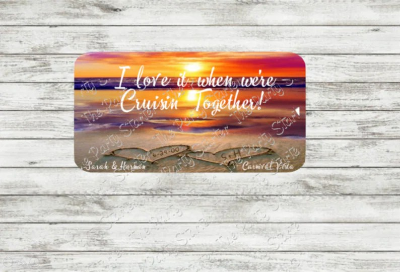 Download I Love it When We're Cruisin Together Cruise Door Sign   Etsy
